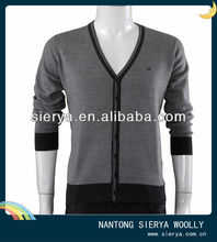 new design cotton knitwear for men in spring