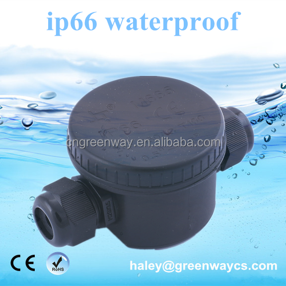 hot sale ip66 waterproof box for cable round junction box electrical connector joint wire