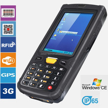 Jepower HT380W A8 1.0GHz WinCE 6.0 3G/WIFI/GPS Rfid handheld reader with 1D/2D scanner CE/Rohs/CCC approved PDA/terminal