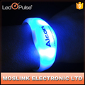 Motion and sound activated and vibrating led bracelet