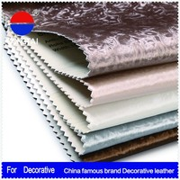2015 Wholesale artificial pvc synthetic leather Factory direct sale