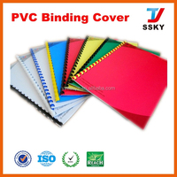 A4 pvc cover plastic sheet PVC book cover
