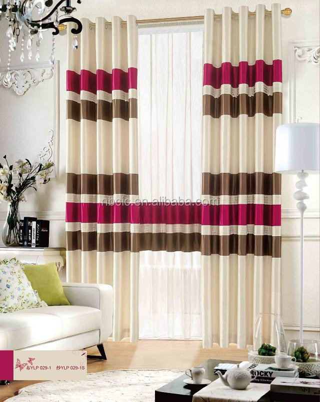 Shower curtains with matching window treatments