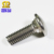 Stainless Steel Button Slotted Head Carriage Bolt