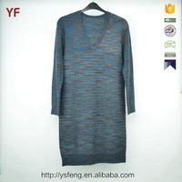 Ladies Fancy XXL Size Women Casual Knitting Sweater Dress