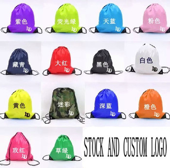 New design custom printing Eco Friendly Sport Drawstring Bag,Wholesale Cinch Packs