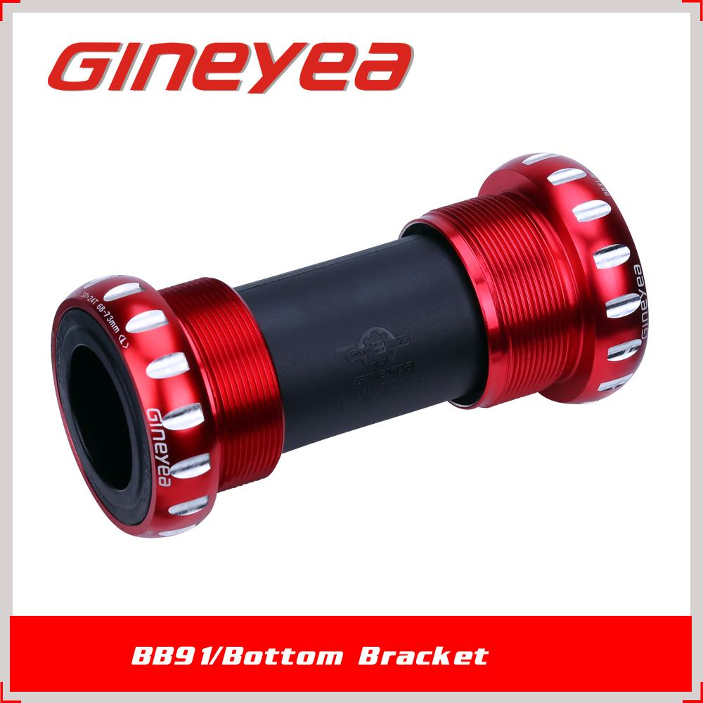 GINAYEA External BB set BB91 3 in 1 Bottom bracket for MTB wholesale