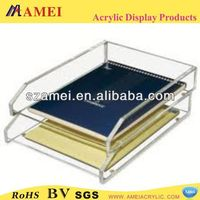 clear acrylic/plastic a4 paper display holder manufacturer