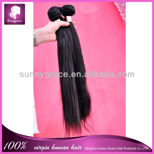 Alibaba aliexpress Best selling brazilian virgin straight human hair extension machine