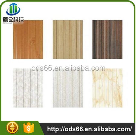 3d mdf wall panel bamboo