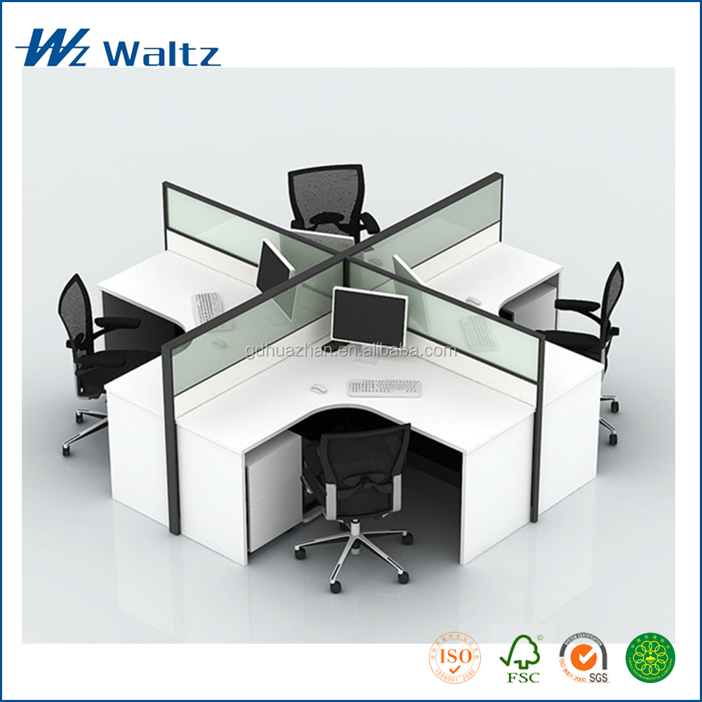 Good price white desk modern office furniture design for Good office furniture
