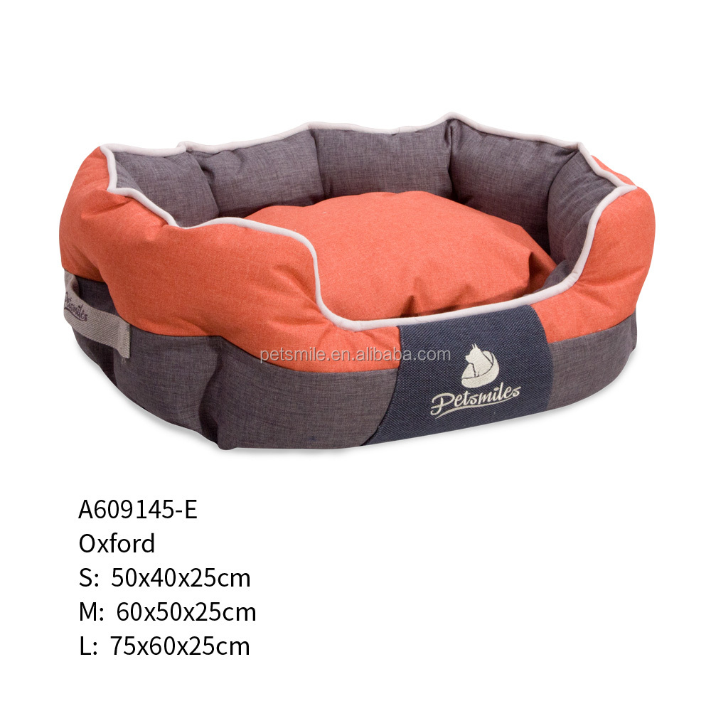 Latest Design for Year 2018 Luxury Waterproof 600D Oxford Dog Bed