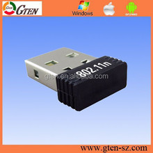 Portable 2.4Ghz 802.11N USB 2.0 rt3070 chipset wireless wifi adapter wifi dongle for laptop & desktop