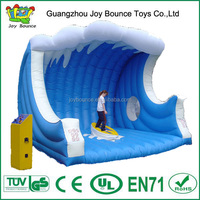 kids adults sport board inflatable surfing game