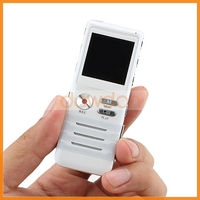 1536KBPS AB Repeat Large LCD Display Audio Voice Recorder Support MP3 Player