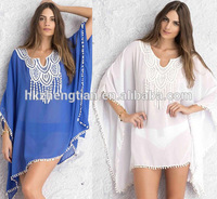 Clothing bestdress apparel STOCK 2Colors Chiffon Loose Style sey Lady Beach Dress Bikini Cover Ups