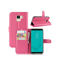For Samsung Galaxy J6 2018 J600F J600G Flip Leather Case Cover