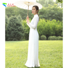 YIZHIQIU vietnam dress ao dai for vietnamese