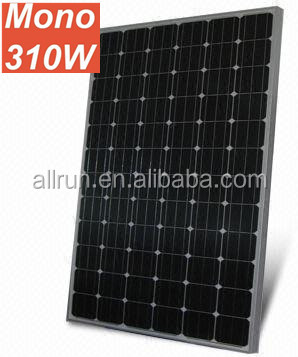 Low price High efficiency 12v 24v 150w 180w 200w 250w 300w 310w mono solar panel also called monocrystalline solar module