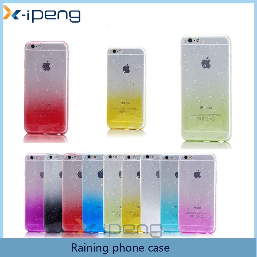 Change color TPU cell phone cover NEW fashion raining case phone cover for samsung galaxy win i8552