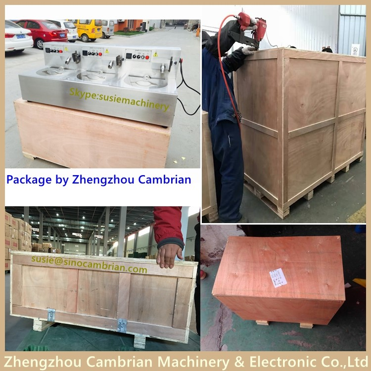 Package of chocolate tempering machine
