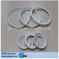 Cina machined ad drawing PTFE flat washer with high percise