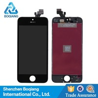 high quality for iphone 5 lcd with touch screen, For apple iphone 5 lcd with digitizer touch screen