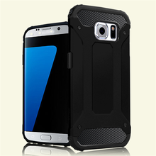 2 in 1 Hybrid Protective Case for samsung galaxy s7 edge case cover