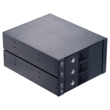 Unestech 3.5in hard drive optical disk SATA hdd docking station internal enclosure 5.25in hdd mobile rack with hot swap