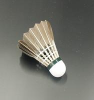 China wholesale 12 pcs High Quality Badminton class A Goose Feather custom logo badminton Shuttlecock