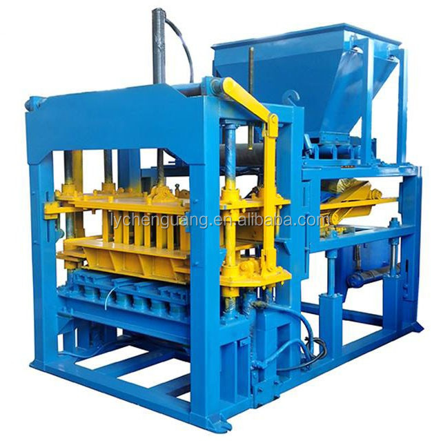 Hydraulic QT 4-15C Hollow Tiger Concrete Block Maker Machine at6 price in philippine