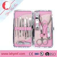 Gift Set Manicure Pedicure Nail Care + Case scissor Nail Nipper Cutter Tweezers