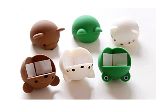 4Pcs Baby Safety Corner Guards Table Edge Corner Cartoon Baby Safety Silicone Protector Table Furniture Protector AE01584