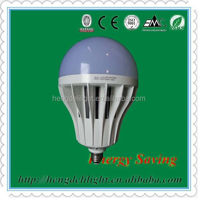 TOP 10 Hot sale 55W Global Bulb LED Lighting