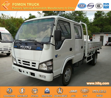 2017 new brand 100P 4X2 double cab light cargo truck with low price