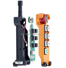 AC DC Wireless Crane Remote Control F24-6D Industrial Remote Control Hoist Crane Push Button Switch 2 Transmitters + 1 Receiver