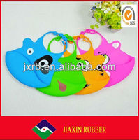 2014High qualtity healthy and environmental 100%cotton plain baby bib with embroidery Baby saliva