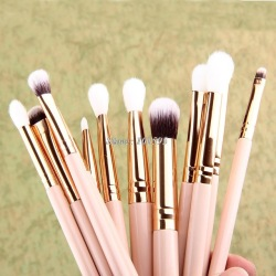 AIDEN- Best Selling 12 PCS Makeup Brush Set ,Pink Eye Makeup Brush 12 PCS,High Quality Makeup Brushes Rose Gold