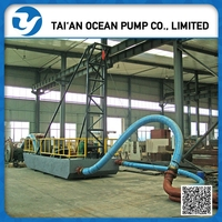 6 inch mini river sand pumping dredger