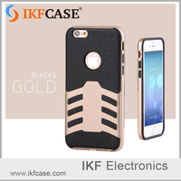 latest hot sale frosted PC+TPU hard mobe phone case imitation metal Mobile Cover Cas for iphone 4 4S