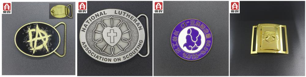 High quality die-casting 3d wholesale belt buckles