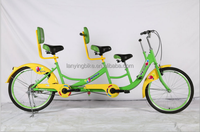 online shopping high quality 3 person tandem bike ,fashion cheap surey bicycle made in china