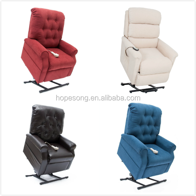 2017 New design electric remote control recliner lift chair