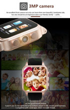 smart watch android waterproof smart phone with 3G 4G wifi GPS