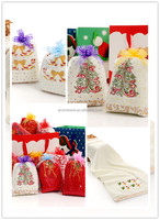 Embroidery Hand Towel ,Gift Set for Winter Holiday Towels Christmas