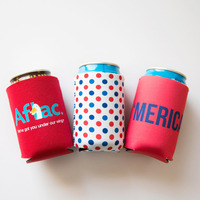 Waterproof insulated custom can coolers