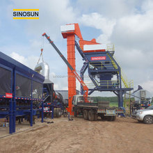 mobile type MAP asphalt mixing plant,60tph-160tph asphalt production machine for sale