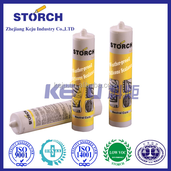Neutral cure anti UV projects silicone sealant