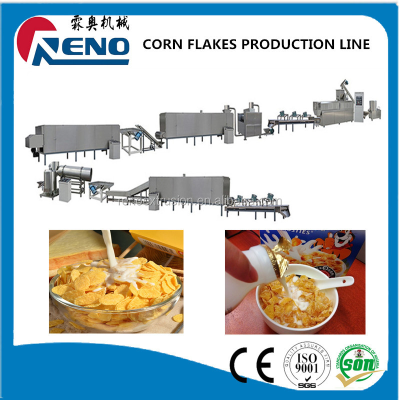 China good supplier customized mexico corn flakes making machine
