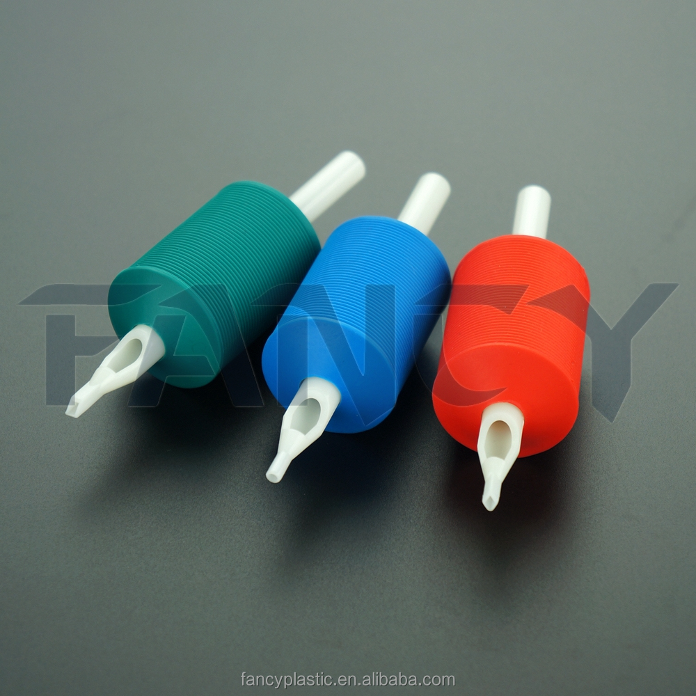 30mm Hot Sale Sterile Disposable Tattoo Grips, Tattoo Tubes